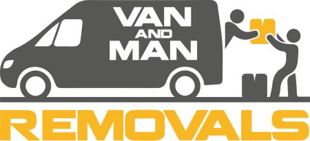 Man And Van Removal Company Bransing Logo Design